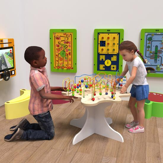This image shows a play system beads tree table