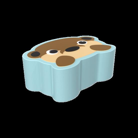 Dit is een handgemaakt zacht zitmeubel voor in de kinderhoek  | IKC Softplay