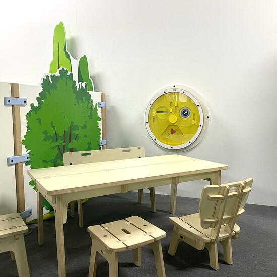 wandspel voor in de wachtruimte of kinderhoek