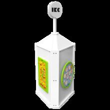 Dit is een afbeelding van de playtower touch white