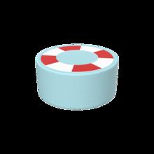 Dit is een handgemaakt zacht zitmeubel voor in een kinderhoek | IKC softplay